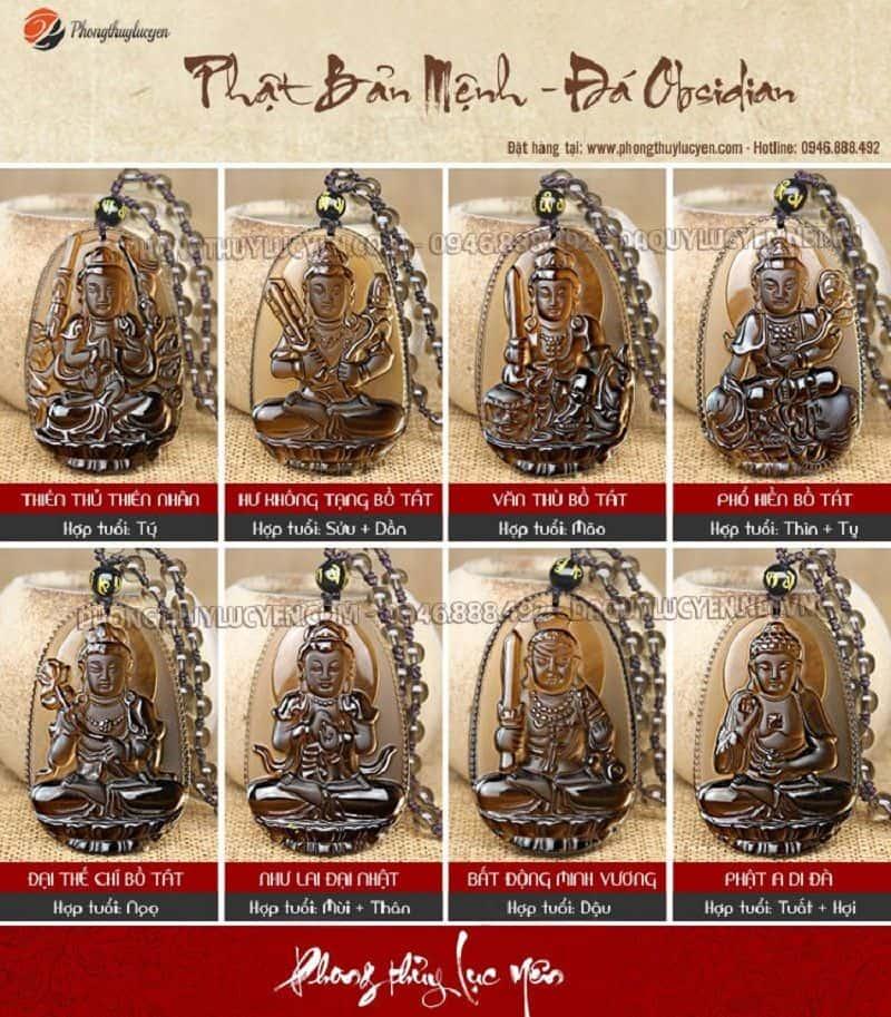 Phật bản mệnh và cách sử dụng mặt dây Phật bản mệnh 03