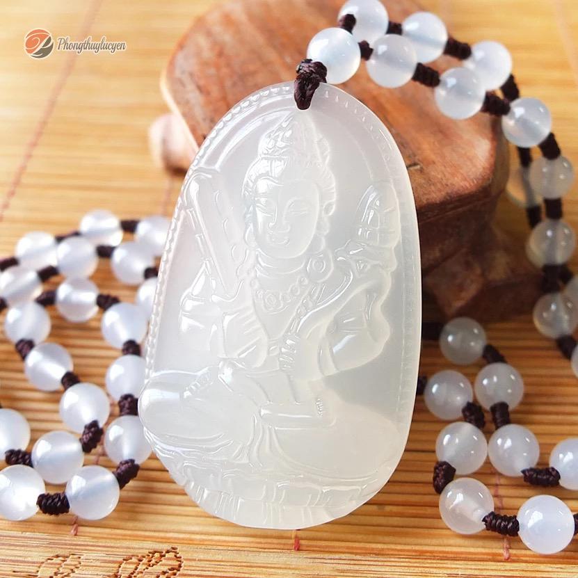 Phật Hư Không Tạng bồ tát đá mã não