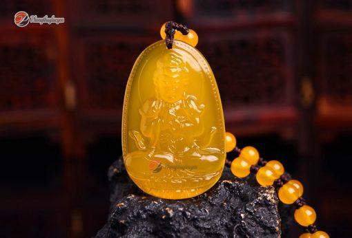 Phật bản mệnh Như Lại Đại Nhật Thạch Anh Vàng