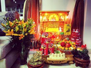 Hướng dẫn chọn vị trí đặt bàn thờ Thần Tài trong nhà