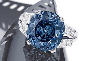 Viên kim cương Shirley Temple Blue