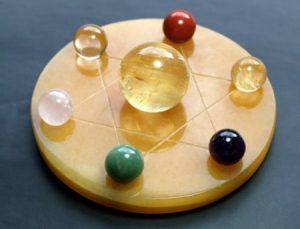 Cách tạo nên vật phẩm phong thủy đĩa thất tinh