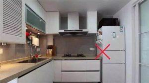 Kiêng kỵ đặt tủ lạnh trong phong thủy gần bếp